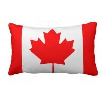 Декоративна подушка прапор Канади