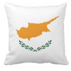 Подушка флаг Кипра
