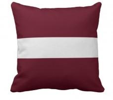 Подушка флаг Латвии