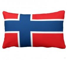 Подушка флаг Норвегия