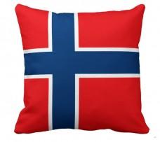 Подушка флаг Норвегии