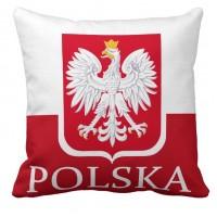 Декоративна подушка прапор Польщі Polska