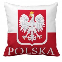 Подушка флаг Польши Polska