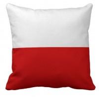 Декоративна подушка прапор Польщі
