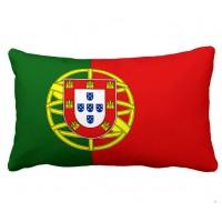 Декоративна подушка прапор Португалії