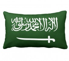 Подушка флаг Саудовская Аравия