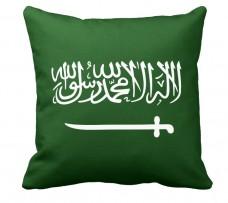 Подушка флаг Саудовской Аравии
