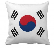 Подушка флаг Южной Кореи