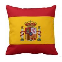 Декоративна подушка прапор Іспанії