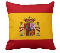 Подушка флаг Испании