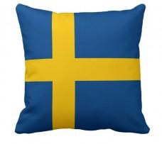 Подушка флаг Швеции