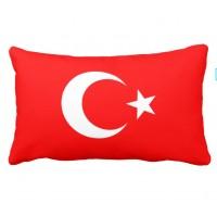 Декоративна подушка прапор Туреччини