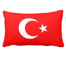 Подушка флаг Турция