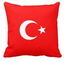 Подушка флаг Турции