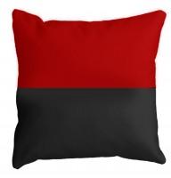 Декоративна подушка Червоно-Чорна