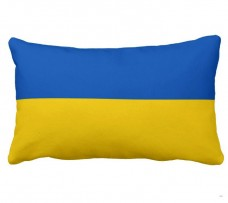 Подушка флаг Украины (50х30см)