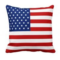 Декоративна подушка прапор США
