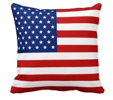 Подушка флаг США
