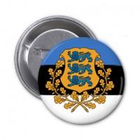 Значок флаг Эстония