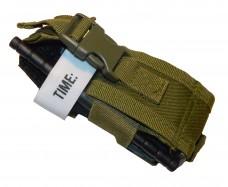Подсумок универсальный малый MFH олива Для турникета, газового балончика, глушителя или др