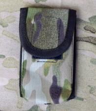 Подсумок для телефона на молле. Multicam