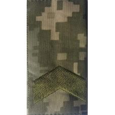 Погон муфта укрпіксель ММ14 Старший Сержант