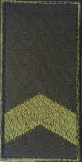 Погон на липучці олива Старший сержант Знижка 40%