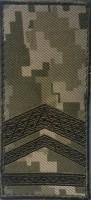 Погон на липучці камуфляж ММ14 Старший прапорщик