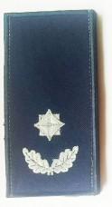 Погон майор служби цивільного захисту (ДСНС 2018р) Універсальний - муфта-липучка