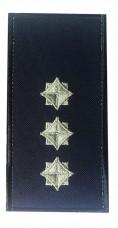 Погон старший лейтенант служби цивільного захисту (ДСНС 2018р) Універсальний - муфта-липучка