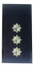 Погони старший лейтенант служби цивільного захисту (ДСНС 2018р) Універсальний - муфта-липучка