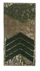 Погони нового зразка Старший сержант Варан ЗСУ Муфта