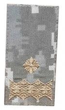 Погони ЗСУ нового зразка Генерал майор ММ14 на липучці