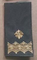 Погони ЗСУ нового зразка Генерал майор ОЛИВА Муфта
