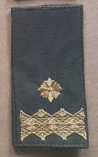Погон Генерал майор ОЛИВА Муфта