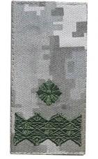 Погони ЗСУ нового зразка Генерал майор піксель ММ14 на липучці