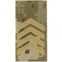 Погони ЗСУ нового зразка ст. сержант пиксель ММ14 Універсальний - муфта-липучка