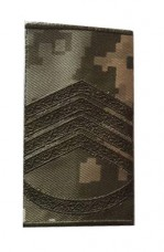 Погони ЗСУ нового зразка старшина пиксель ММ14 Муфта