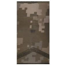 Погони ЗСУ нового зразка старший солдат пиксель ММ14 муфта