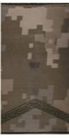 Погони ЗСУ нового зразка старший солдат пиксель ММ14 Універсальний - муфта-липучка