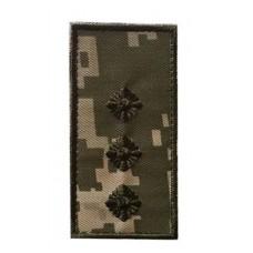 Погон ММ14 Ст. лейтенант Універсальний - муфта-липучка