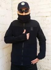 Куртка флісовая ПОЛІЦІЯ блискавки для доступа до зброї