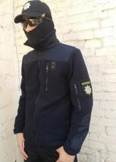 Куртка флисовая Полиция NAVY АКЦИЯ последние размеры