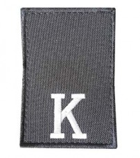 Купить Погони Курсант Поліції Чорний На липучці в интернет-магазине Каптерка в Киеве и Украине