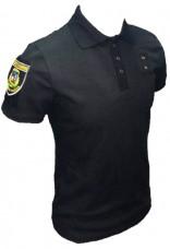 Купить Поло Полиция с нашивками и люверсами для жетона, на пуговицах  в интернет-магазине Каптерка в Киеве и Украине