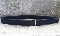 Чорний ремінь тактичний-брючний ширина 40мм для охорони і поліції