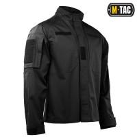 Рубашка черная M-TAC PATROL FLEX BLACK