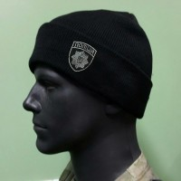 Шапка вязанная Полиция