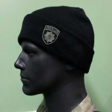 Купить Шапка вязанная Полиция в интернет-магазине Каптерка в Киеве и Украине