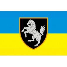 1 Окрема Танкова Сіверська Бригада ЗСУ Варіант прапору з новим знаком бригади